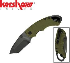 Kershaw - Shuffle II Folding Knife / Multi-Tool Olive / Blackwash 8750TOLBW New