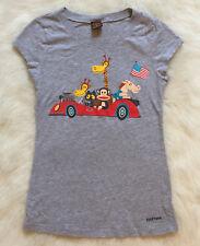 Paul Frank Gray Graphic T Shirt Juniors Size S