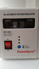 powerhero 2000va regulateur de tension entrée: 150-270 vac sortie: 230 vac