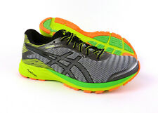 Asics DynaFlyte men's running shoes sneakers trainer Grey Black Yellow size 11.5