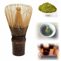 110 Prongs Tea Whisk Natural Bamboo Japan Matcha Green Powder Chasen Brush Tools