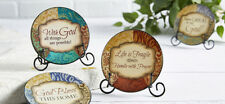 Simplicity Inspirational Mini Plate & Metal Stand YOU CHOOSE 4 Designs NEW