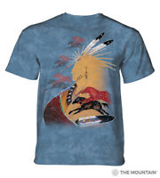 The Mountain 100% Cotton Adult Future Horse Vision T-Shirt Blue Size S-2X-4X NWT