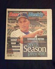 March 27-April 2 2002 Baseball Weekly  Moises Alou   Cubs
