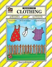 Clothing Thematic Unit  (1999, Paperback) Primary grade level Teacher resource
