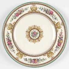New ListingVintage Wedgwood Columbia White (Green Trim) 10.75� Dinner Plates