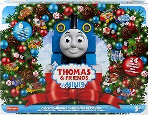 Thomas & Friends Minis 2021 Advent Calendar - 24 Mini Train Engines
