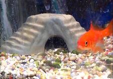 Fish Tank, Vivarium, Ornament, Hide Rock, Cave, Ceramic, Fish,Reptiles. Free P&P