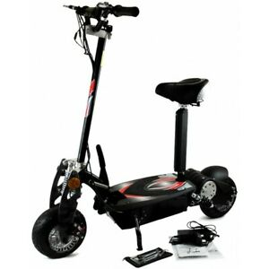 """Zipper Electric Scooter 800W Double Suspension Removable Seat ABS Break 10""""Tyres"""