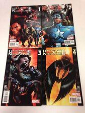 Ultimate Nightmare #1 2 3 4 5 Wolverine Captain America