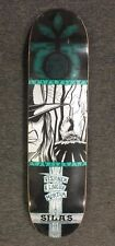 NOS HABITAT Skateboards SILAS SB METAL 8.125 inch Wide Skateboard Deck NEW