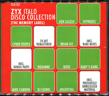 ZYX ITALO DISCO COLLECTION (THE MEMORY LABEL) - 3 CD COMPILATION