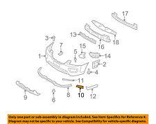 KIA OEM 07-10 Rondo Front Bumper-Bumper Bracket Left 865511D000