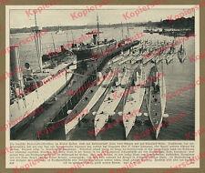 Arthur Renard Kaiserliche Marine U-Boot-Division Kiel Hafen Seefahrt Ostsee 1914