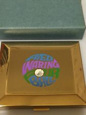 RARE 1960s Vintage FRED WARING FOUR BALL Compact Case NEVER USED in Original Box