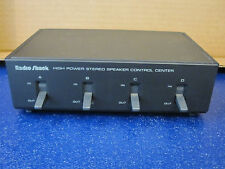 Radio Shack 40-136 High Power Speaker Control Center Tested Free Shipping