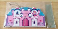 Vintage Lanka Kade Fairytale Castle Wooden Mobile Still In Packaging
