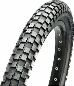 """Maxxis Holly Roller Tire: 20 x 1.95"""", Wire, 60tpi, Single Compound, Black"""