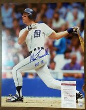 Alan Trammell Autographed 16x20 Photo Detroit Tigers Signed Auto ~ JSA Certified