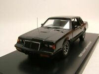 Buick Grand National 1986 black 1/43 Model Car. Auto World