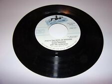 "45"" Elvis Presley: (You're The) Devil In Disguise / One Broken Heart For Sale/NM"