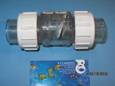Swing check valves ebay check valve 34 true union clear pvc swing check valve socket ccuart Images