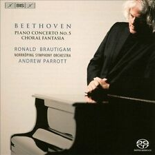 Beethoven: Piano Concerto No. 5; Choral Fantasia Super Audio Hybrid CD (CD,...