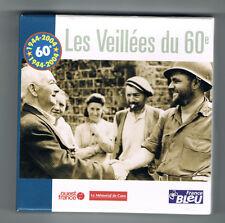 SECONDE GUERRE MONDIALE - LES VEILLÉES DU 60e - COFFRET 5 CD - COMME NEUF