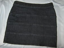 New York & Company Jean Skirt Blue Denim Stretch Size 2 #CL47