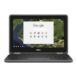 "Dell Chromebook 3180 11.6"" HD Laptop Intel Celeron N3060 Processor"