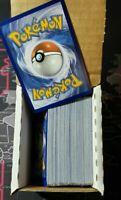 100x Pokemon cards lot All RANDOM CARDS Pokeman Common/Uncommon/Rare Card Lot