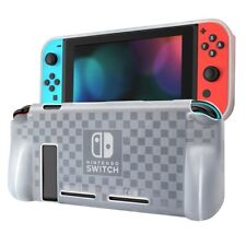 Nintendo Switch Console Soft TPU Protective Cover Shell Shockproof Case Clear