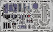 EDUARD 73555 Detail Set for Zvezda Kit MiG-29 Izdelye 9-13 in 1:72