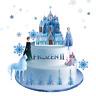Frozen 2 Eiskönigin Eßbar Tortenaufleger NEU Party Deko Muffinaufleger dvd Elsa