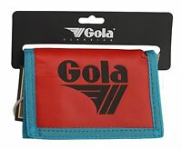 GOLA NYLON WALLET WITH COIN POCKET CUB 300 - RED / NAVY / BLUE