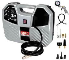 Duro D-AC 193 Tragbarer Kompressor 8 bar Zubehörset Ölfrei Druckluftkompressor