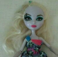 Monster High or Ever After Doll 2012~blonde hair, with green streak ~ w/outfit