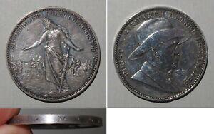 Medaille 80-jähr. Geburtstag Fürst v. Bismarck 1895 / Rand SEGENSMÜNZE BISMARCK