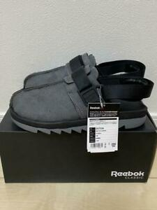 Reebok CLASSIC BEATNIK SHERPA US10 28cm Sandals ALLOY/BLACK/STEEL