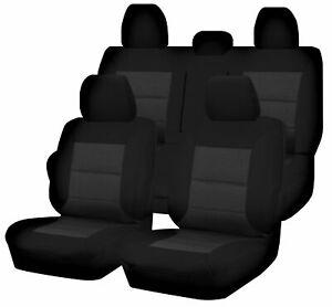 Premium Car Seat Covers For Mitsubishi Triton Mq-Mr Series 2015-2020 Dual Cab...