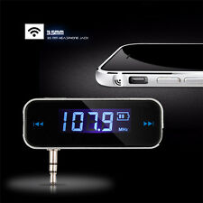 FM Radio Transmitter USB Car Charger for Apple iPhone 5 5s 6 6s 6 Plus 7 7Plus