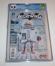 Nightwing (New 52) #30 - DC Modern Age MAD variant issue - CGC NM/MT 9.8