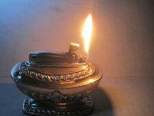 Ronson Georgian silver plated table lighter 1949 - 55