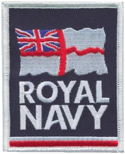 Royal Navy RN White Ensign Logo Mod Embroidered Patch
