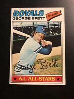 1977 Topps Baseball George Brett #580 Vintage Baseball Card Kansas City Royals