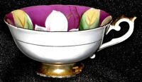 Ucagco China Made in Japan Trim in Gold Floral Tea Cup.