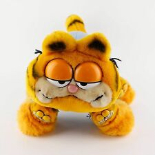 Dakin Garfield in Pajamas My Favorite Slippers Stuffed Animal Plush Cat 10""