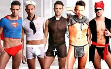 Men's Funny Virtual Zoom Fancy Dress Stag Costume Amazing Outfit- Fast Dispatch