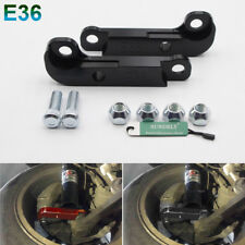 For BMW E36 M3 About 25%25-30%25 Drift Lock Kit Adapter Increasing Turn Angles Black