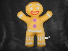 "Shrek 13"" Gingy Gingerbread Man Toy Factory Plush Doll"